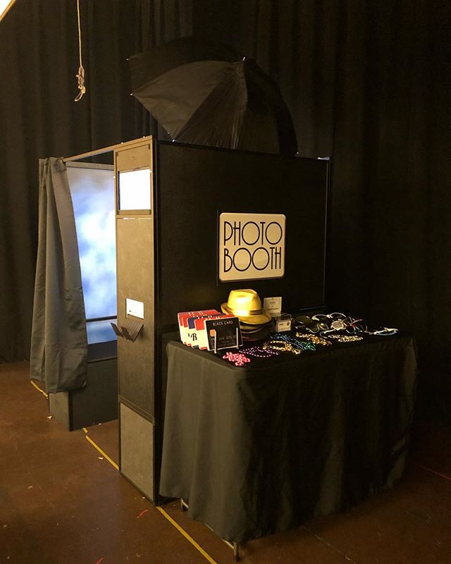 Enclosed photo booth set up for #travisafb #60amxs at the Joseph Nelson community center in Suisun last night.
