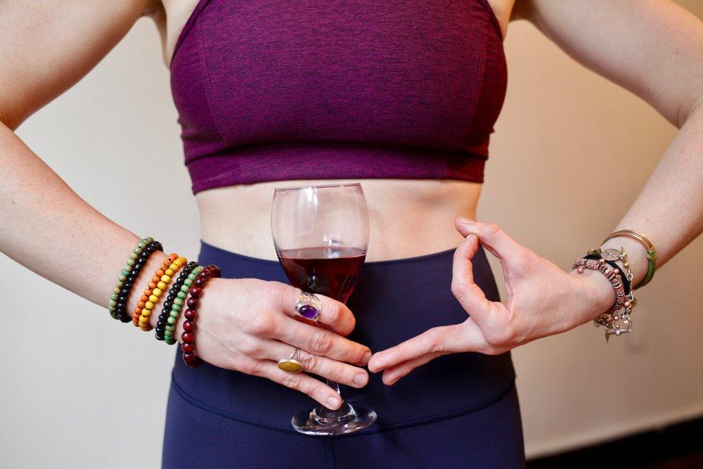 - drunk yoga
