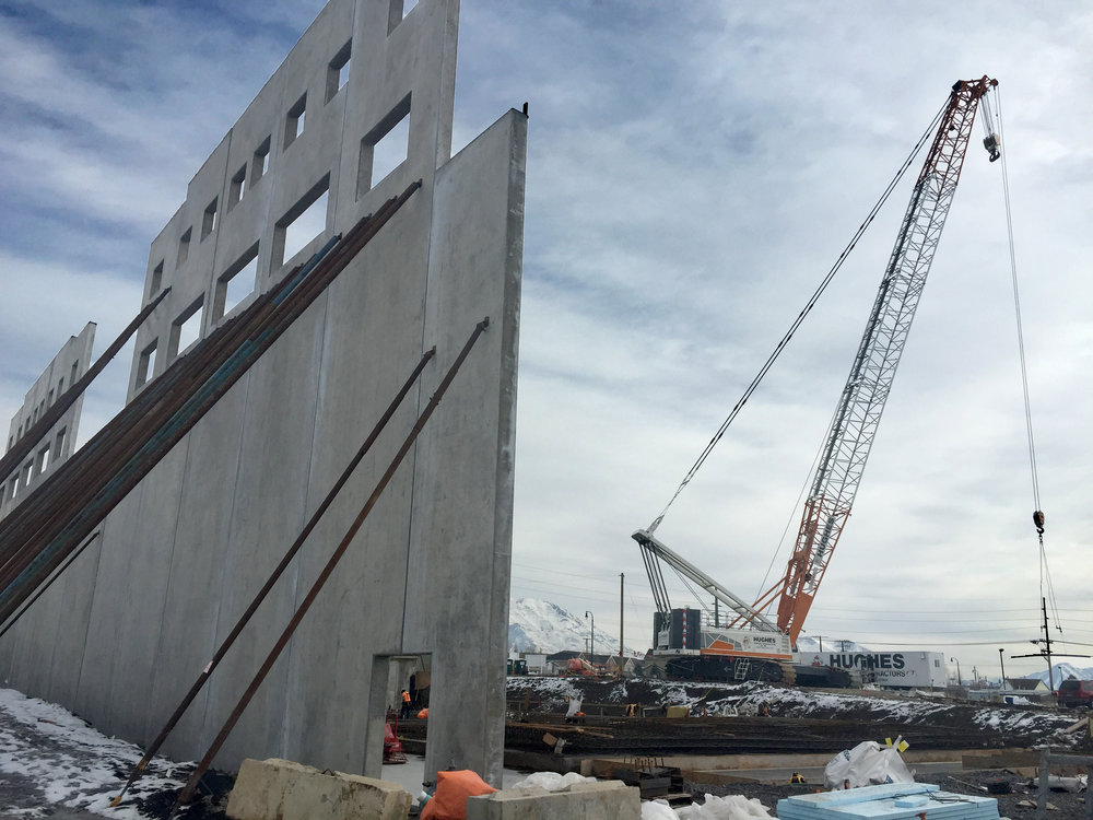 2017 - Telos U becomes the first five-story concrete tilt-up facility in the state of Utah.