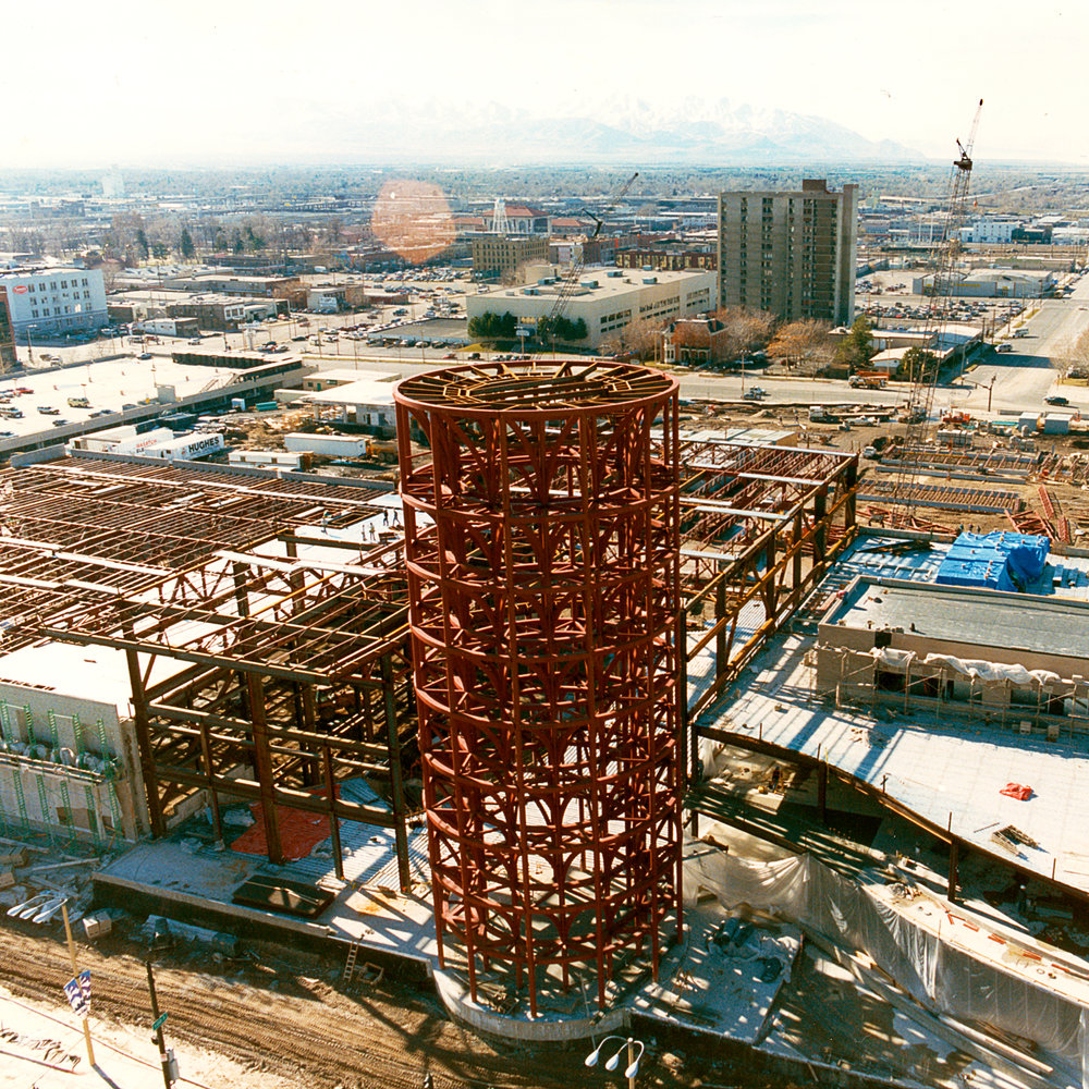 1996 - Hughes takes on a joint venture with Hunt Construction of Utah to build the New Salt Palace.