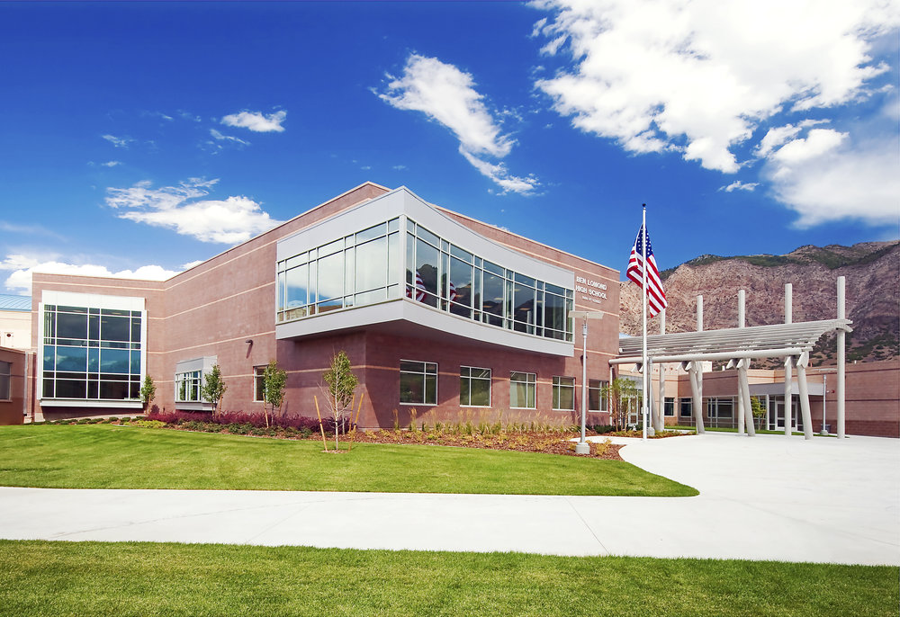 2008 - Hughes has six high school projects simultaneously under construction: Park City High School, Valley High School, Salem High School, Stansbury High School, Odgen High School and Ben Lomond High School.