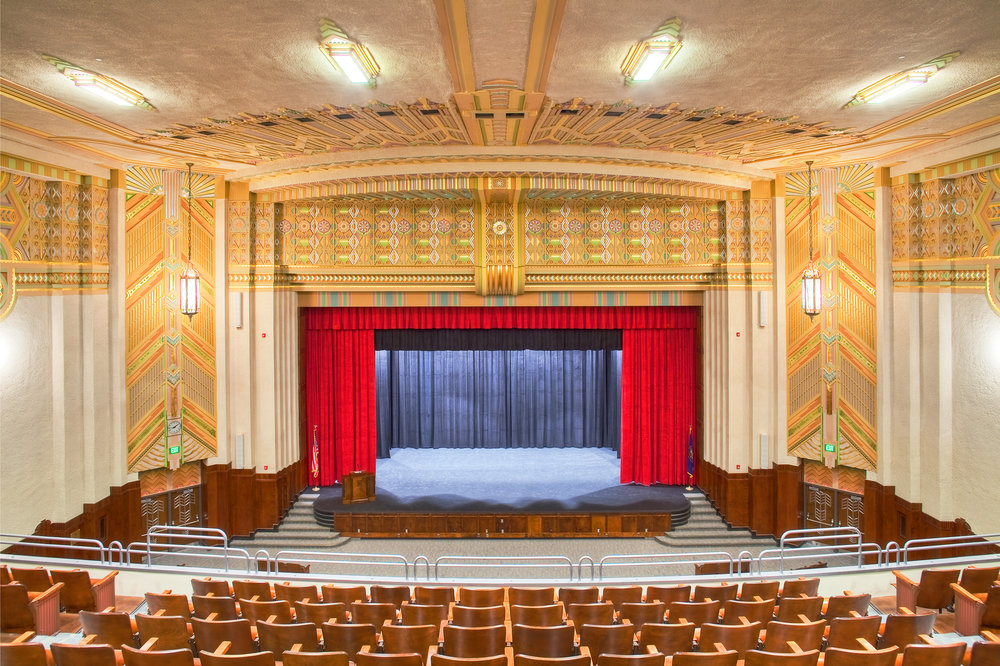 2012 - Hughes restores and renovates the historic Ogden High School in three phases, including Art Deco restoration in the auditorium.