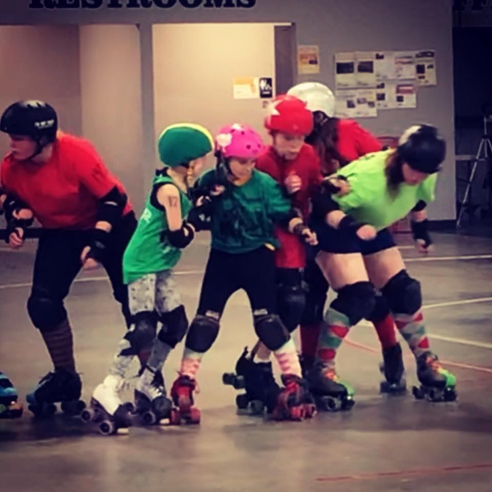 December 16, 2017 Merry Mixer hosted by Confluence Crush Roller Derby -