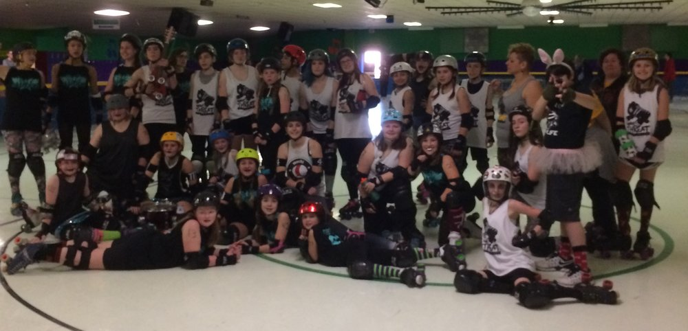 January 28, 2018 MT Misfits win big in 3rd bout against Gem City Jammers - Final Score MT 321 / Gem City 116(check the blog for the story)