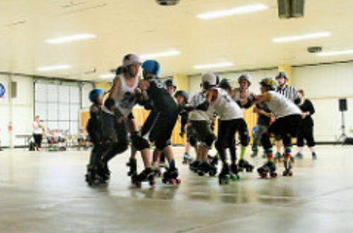 May 26, 2018 Misfits VS Gem City Jammers - 4th Gem City bout, 4th win Great game everyone(Check the blog for details)