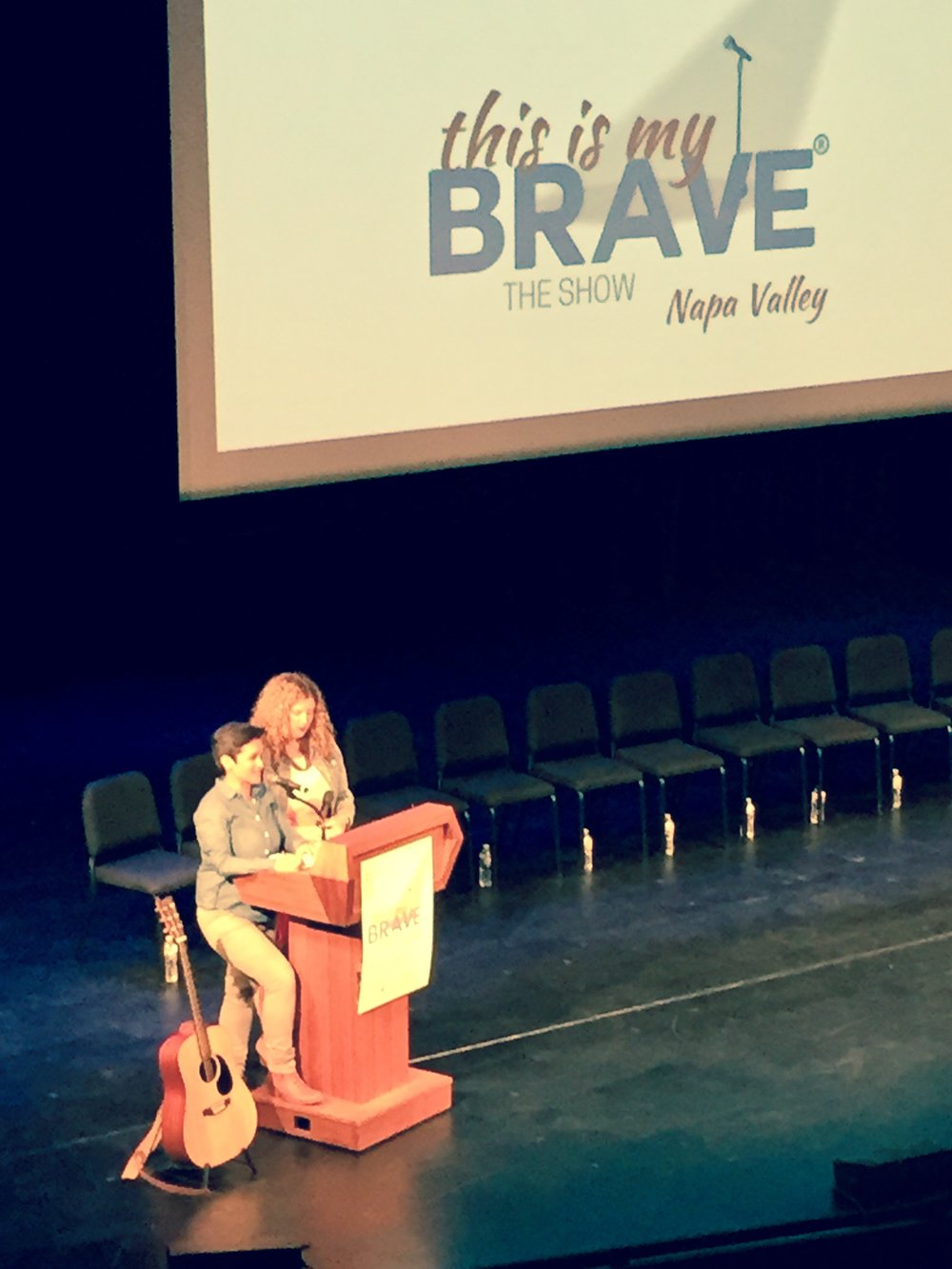 E. Beth Nelsen, MA Co-produced Napa Valley's This Is My Brave in 2017 - The mission of This Is My Brave, Inc. is to end the stigma surrounding mental health issues by sharing personal stories of individuals living successful, full lives despite mental health issues through poetry, essay and original music, on stage in front of a live audience