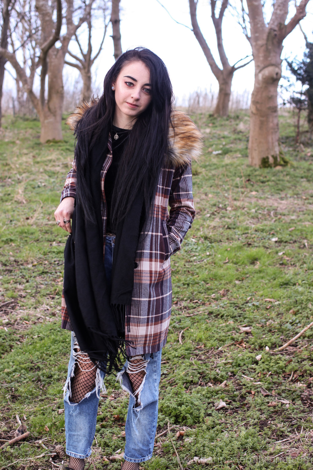 Drop Dead Lock Up Coat  | www.hannahemilylane.com