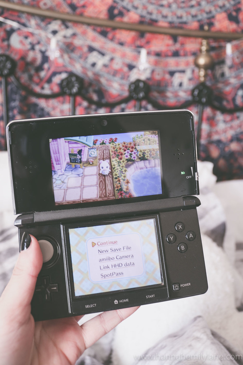 3. Animal crossing - Ok I've been loving the Animal Crossing series since like 2006? Since Wild World. Wow ok now I feel old.This has literally been my all time favourite game series, ever. I'm not a huge gamer but I've got a lot of time for this.Recently, Nintendo shocked us all with an announcement that Animal Crossing was coming to Switch in 2019. HECK YES.I mean, I don't own a Switch but obviously, I will be buying one before the game is released. If anyone sees any super deals hit me up...Since then though, I've picked up my New Leaf game again and been playing that a lot. I've fallen back in love with the magic of the game. I love the aesthetic, the relaxing music, the fact there is no story to follow and the game is so customisable, the cute animals who will always chat with you and the calming vibes.I'm a forever fan of this series and I am so impatiently waiting for a peek at the next game, a release date, and well, anything Nintendo will offer up.