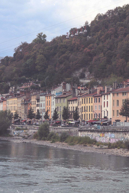 Grenoble in September, autumn   www.hannahemilylane.com