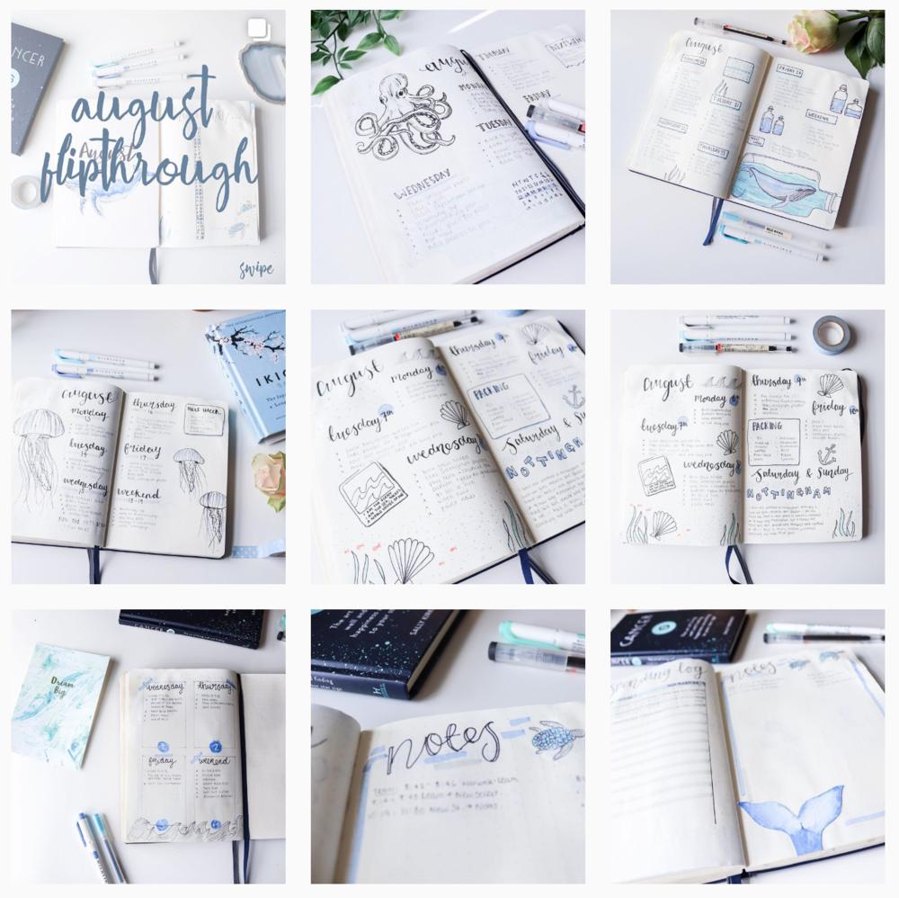 follow my journalling instagram - @hannahemilyjournals