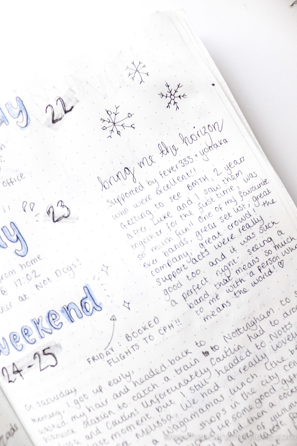Bullet Journal Pages  | www.hannahemilylane.com