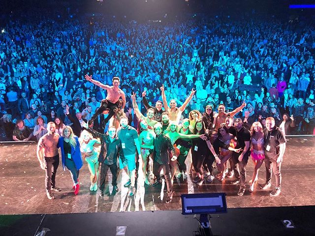 Now for the real MVP's of #dwtstour ... OUR CREATIVE TEAM AND OUR CREW!! The incredible talented and passionate men and women behind the scenes that day in day out work more hours and get less sleep than anyone else. The dedicated creatives that design every inch of what you see, constantly striving to bring you something better than the last one. The people that build our entire stage and take it down everyday. The people that make sure you can see us, hear us, take photos with us. They make sure we don't go onstage with the wrong costume, make sure we can eat healthy, make sure we are safe! It's endless and it's vital what these guys do, and yet they don't get to enjoy the applause like we do every night even though they truly deserve it. I cannot miss mentioning our unbelievable PT @alia—- who was literally taping us together by the end. Without her we would've fallen apart long ago. And our fearless leader Neilson... you the best and we would be lost without you. I adore and appreciate all of you so much, thank you for everything, thank you for creating this opportunity and thank you for your presence, energy and passion throughout it. ♥️
