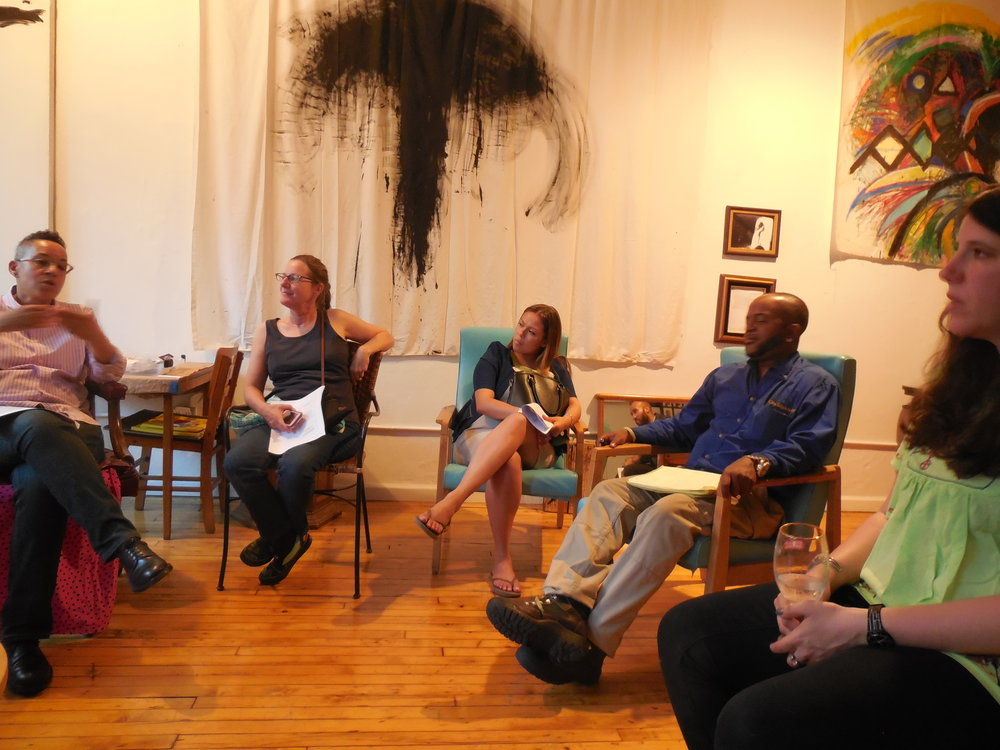 Artist Lecture - How Artist Can Get Grants by Luz Rodriguez of The Foundation Center