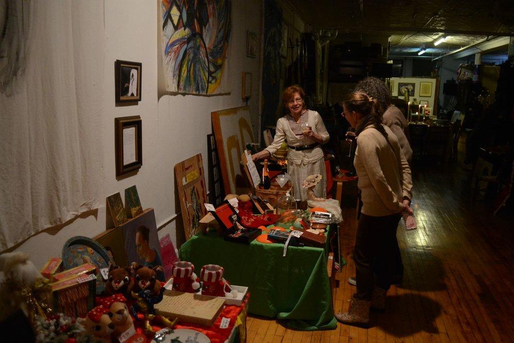Board Member Dinner - Perusing Christmas in October Sale