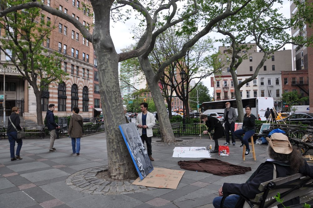 Artists In The Parks - TriBeCa Park TOAST 2016