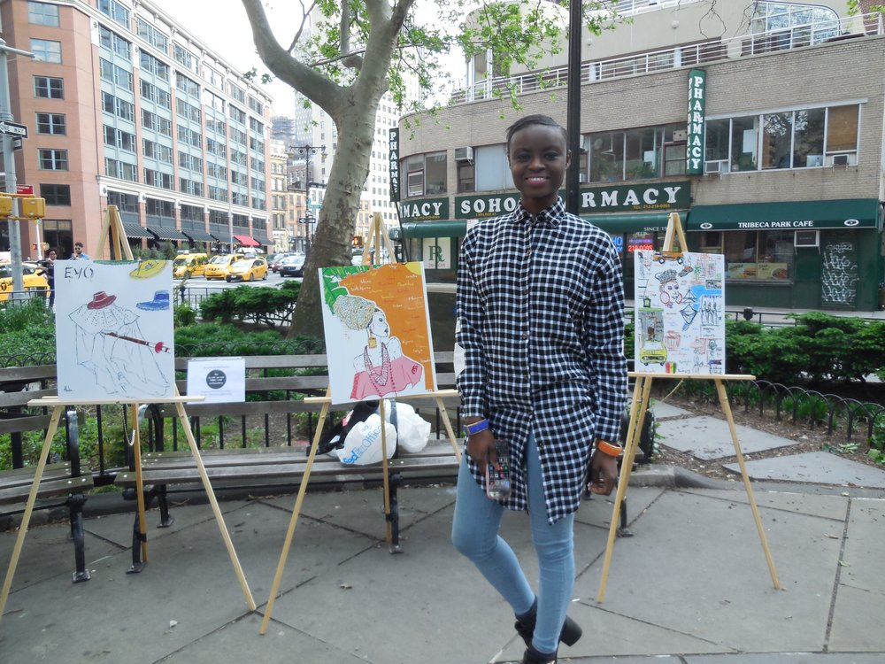 Artists In The Parks - Sunny TriBeCa Park TOAST 2016