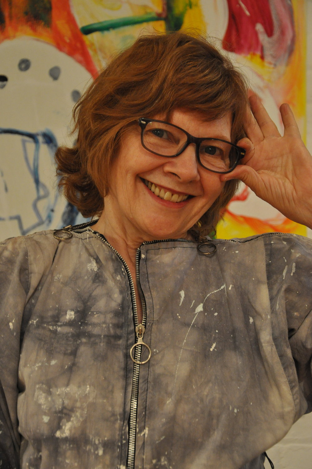 "- Claire is a multi-medium artist creating original works in NYC from the 70's to present day at her loft in Tribeca. To Claire ""Art is a language that allows one to think outside of the box"" where art and artist can address the issues facing our society.This is the philosophy that prompted her to establish The Claire and Jan Binney Lang Art Foundation, a non profit organization with the motto ""To Save the World through Art"" and to create communities in the real and digital worlds to unite people to cultivate community.Claire received her MFA from CUNY Lehman College. Upon graduating, she began her career by printing fine art silkscreens for other artists and then initiating"