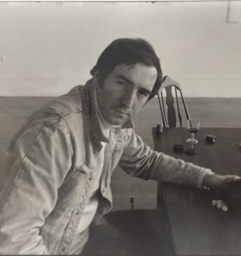 Herbert at California Gallery, San Francisco, in 1975