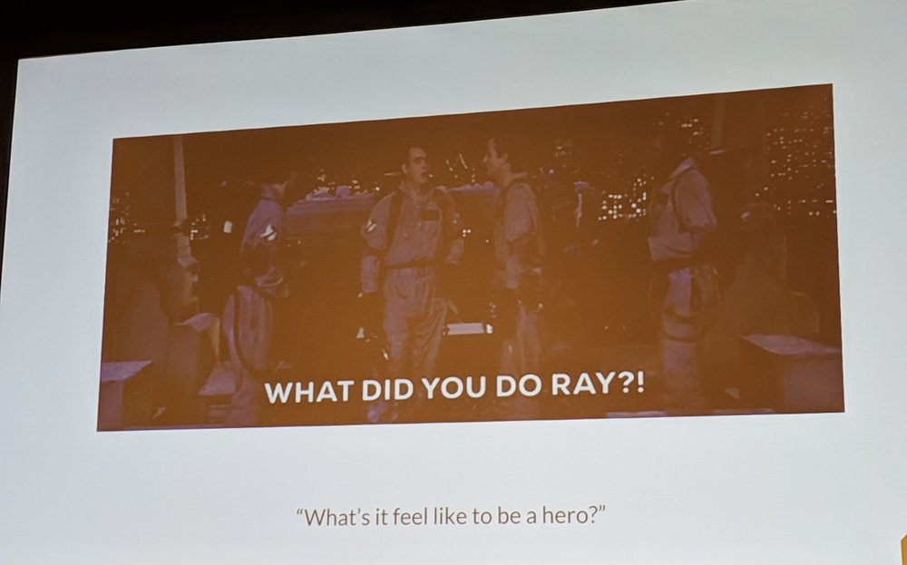 """#7: you silence some alerts and are ready to be hailed as a hero but… """"what did you do, Ray?!"""" (This cracked me up.)"""
