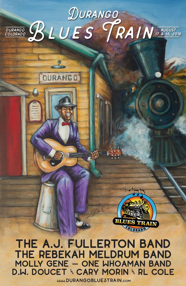 Durango Blues Train | August 17 & 18 Lineup