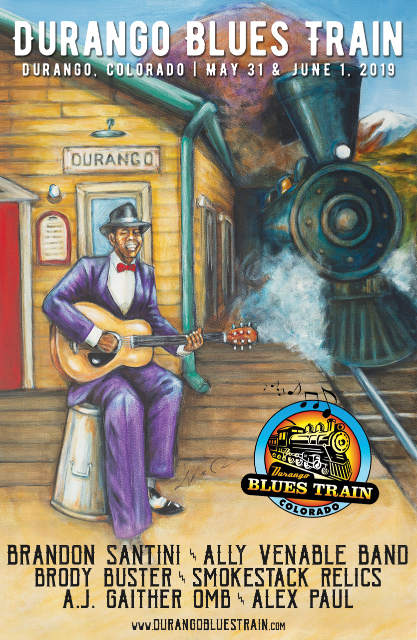 Durango Blues Train | May 31 & June 1, 2019