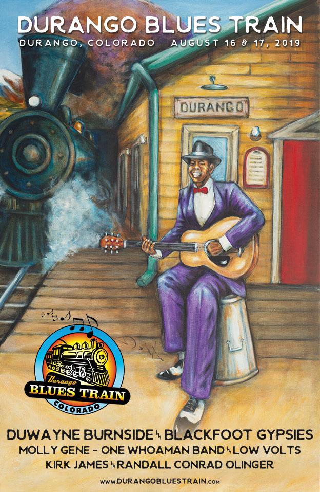 Durango Blues Train   August 16 & 17, 2019
