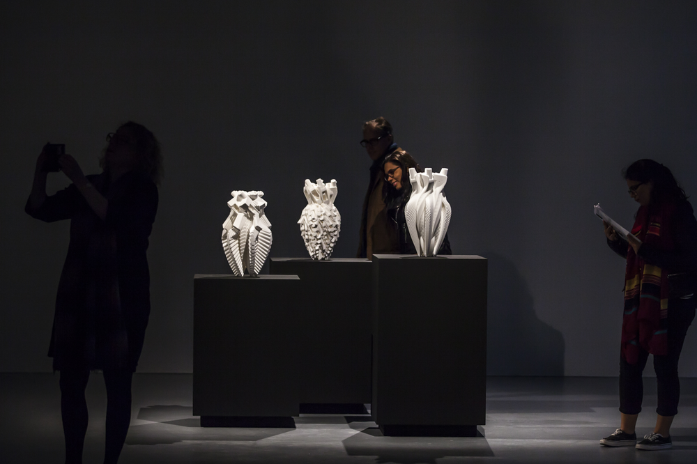 Vases on Display. Photo Credit : Hanneke Wetzer