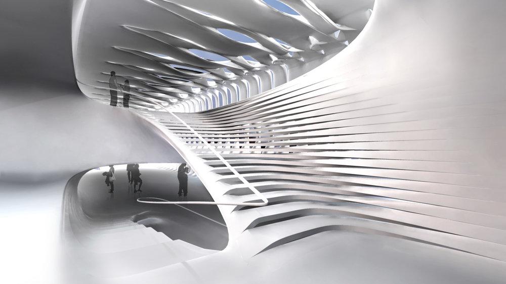 Interior Exhibition Space.