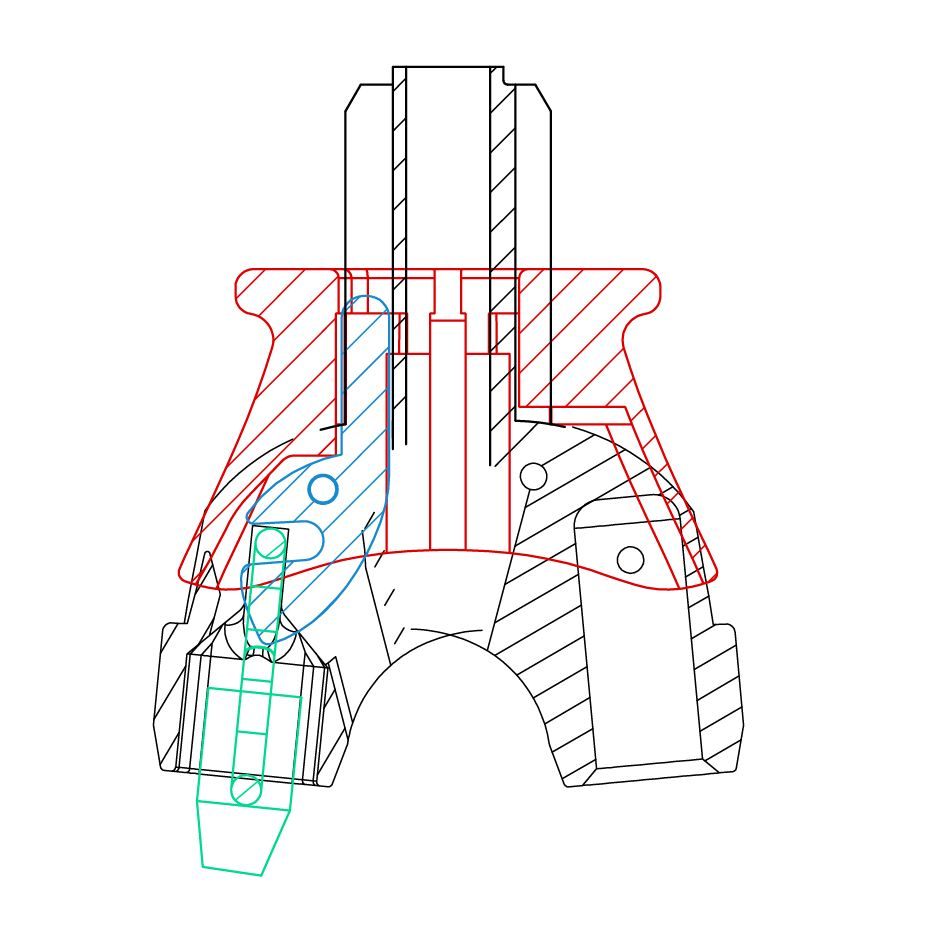 Quick Release Technical Drawing