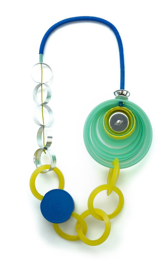 KATIE KAMEEN   - Artist   Glean  - Found plastic Objects