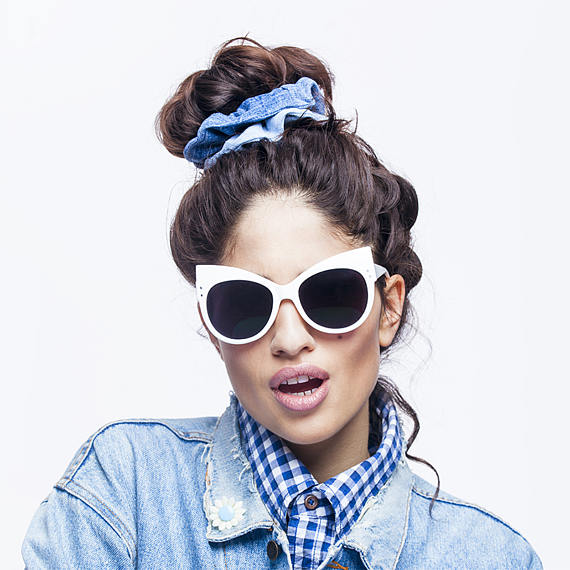 KinsuAtelier - Brand  Must haves:Denim Upcycled Scrunchies