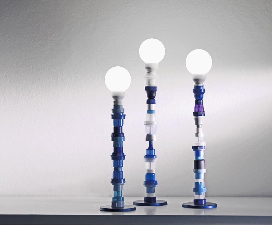 Brunno Jahara - Designer  Art: PLASTIC BOTTLE CAPS UPCYCLED