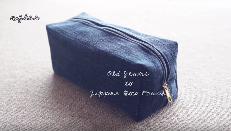 madebyaya  - DIY  DIY Upcycled Zipper Pouch ㅣmadebyaya (4:50)
