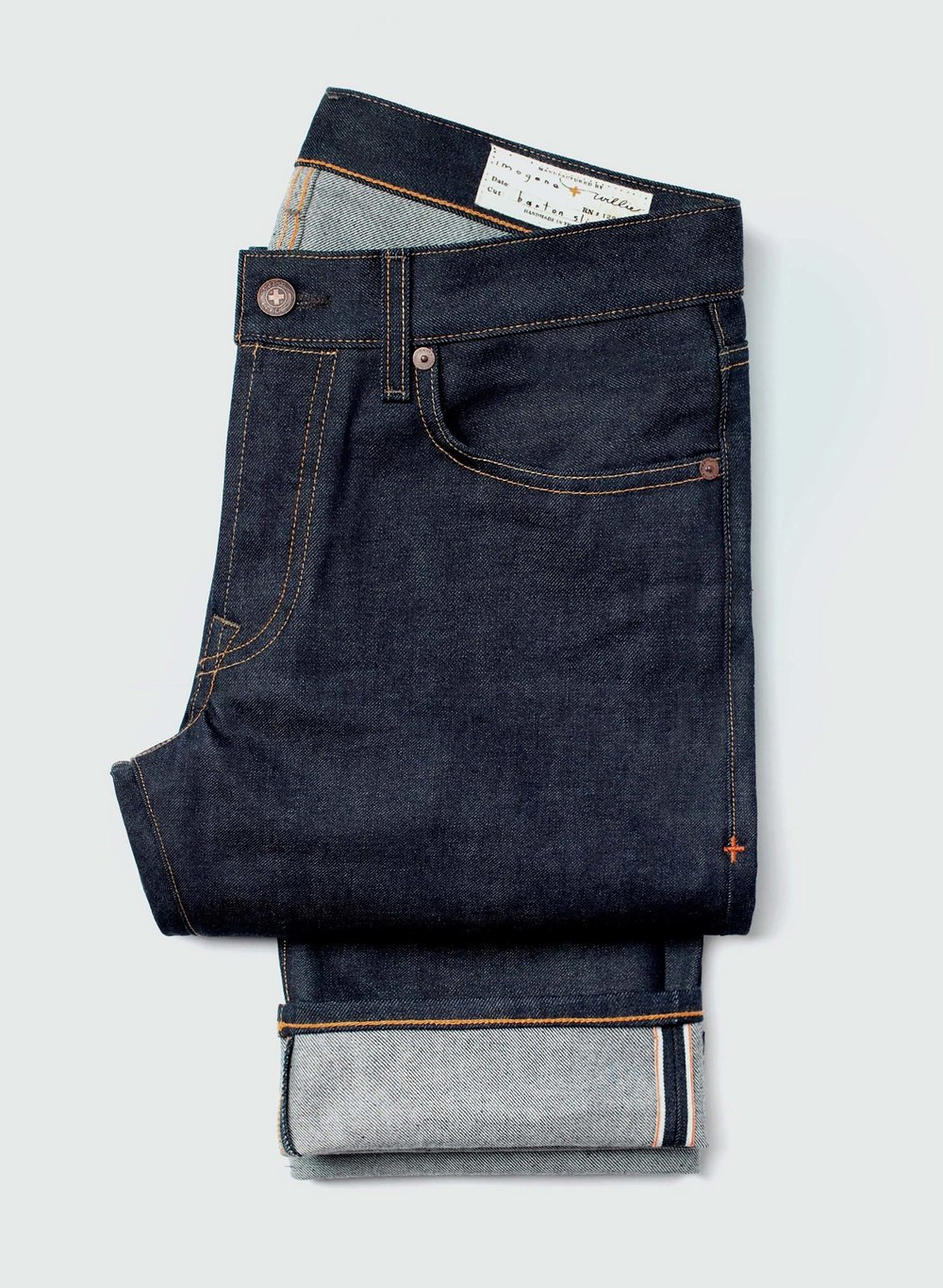 If you have to buy new Denim Jeans, check out The GoodTrade's list first. - 16 Fair Trade & Eco-Friendly Denim Brands You Should Know Exist. Jeans in picture from Nashville brand Imogene and Willie.