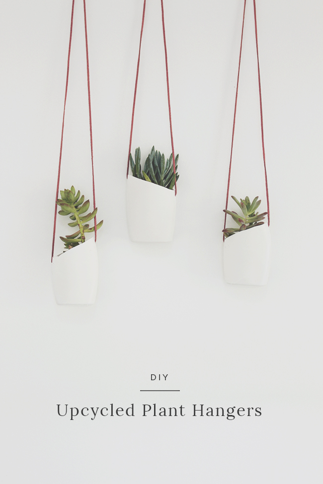 A  lmost Makes Perfect  - DIY Blogger  DIY: UPCYCLED PLANT HANGERS