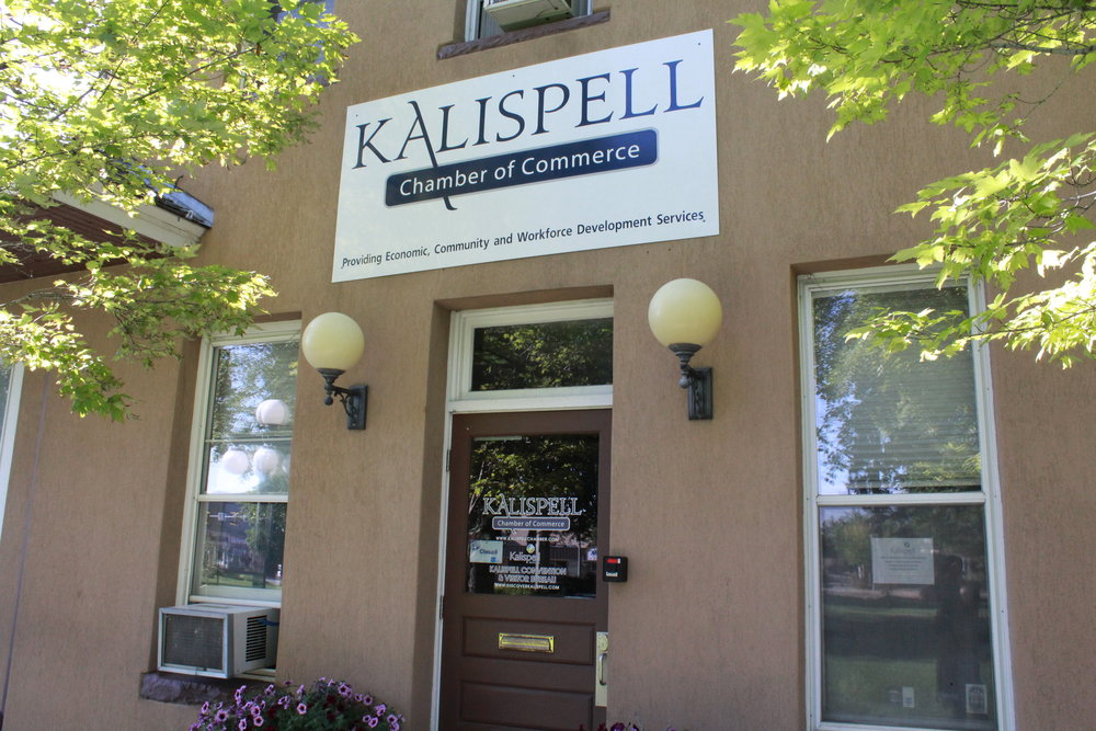 Kalispell Chamber of Commerce  - Located in Depot Park