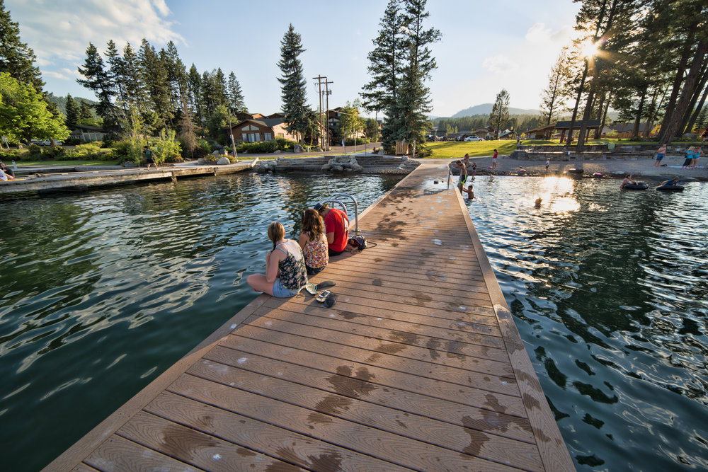 Lakeside  - Lakeside is the quintessential Montana town. At the west edge of Flathead Lake Lakeside has some of the best local eateries and most stunning views.