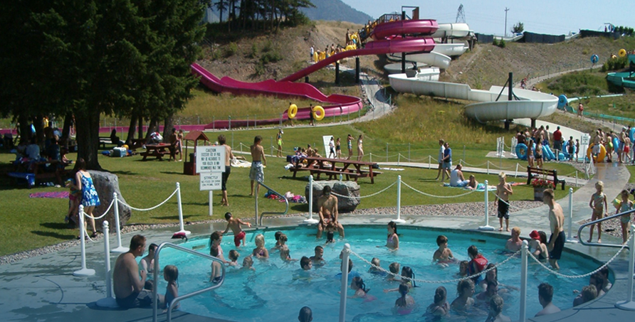 Big Sky Waterslides - Fun for the whole family!