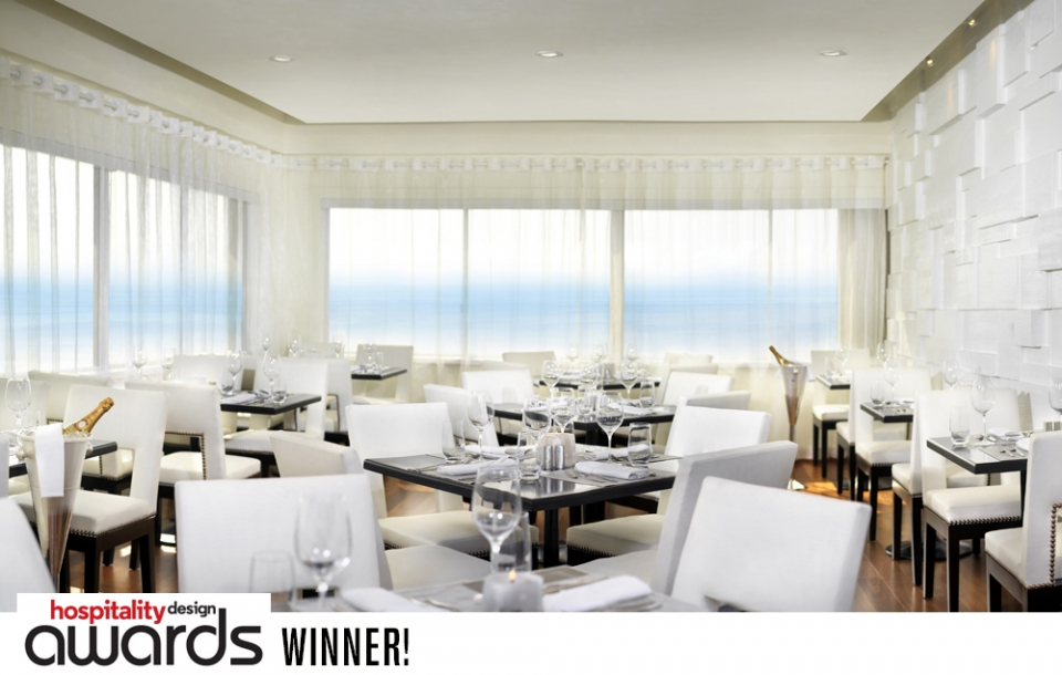 Huntley Penthouse Restaurant - Santa Monica   WINNER: Hospitality Design Award, Best Restaurant - Fine Dining