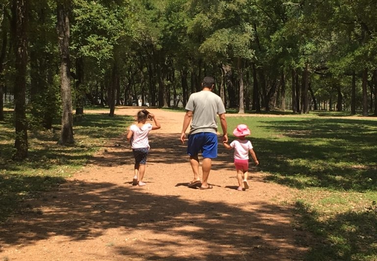Nothing sweeter than a dad with his girls. Unless it's a mom with her boys.