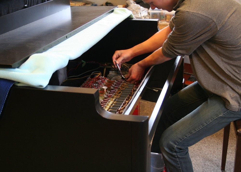 Pic - Repair Hammond.JPG