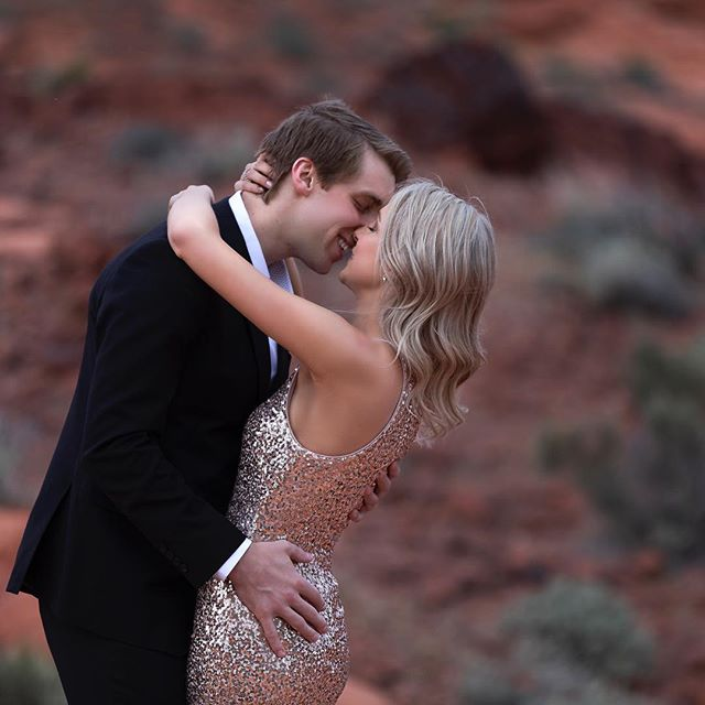 Love. It's something that we all experience, but they type of love that puts a smile on your face with you kiss is a special kind.  Who's engaged and ready for their unique engagement session? #lasvegas #lasvegaswedding #lasvegasengagement #engagementphotographer #photography #valleyoffire #love #everafter #photooftheday #vegas