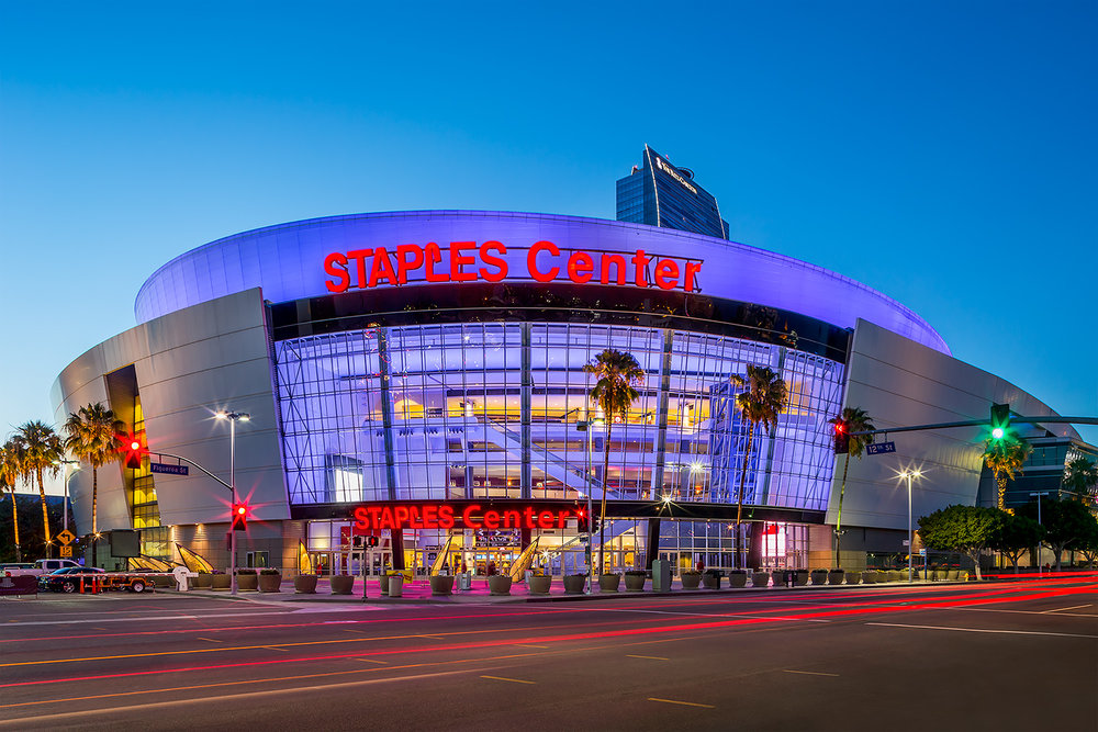 Staples Center, Los Angeles, CA