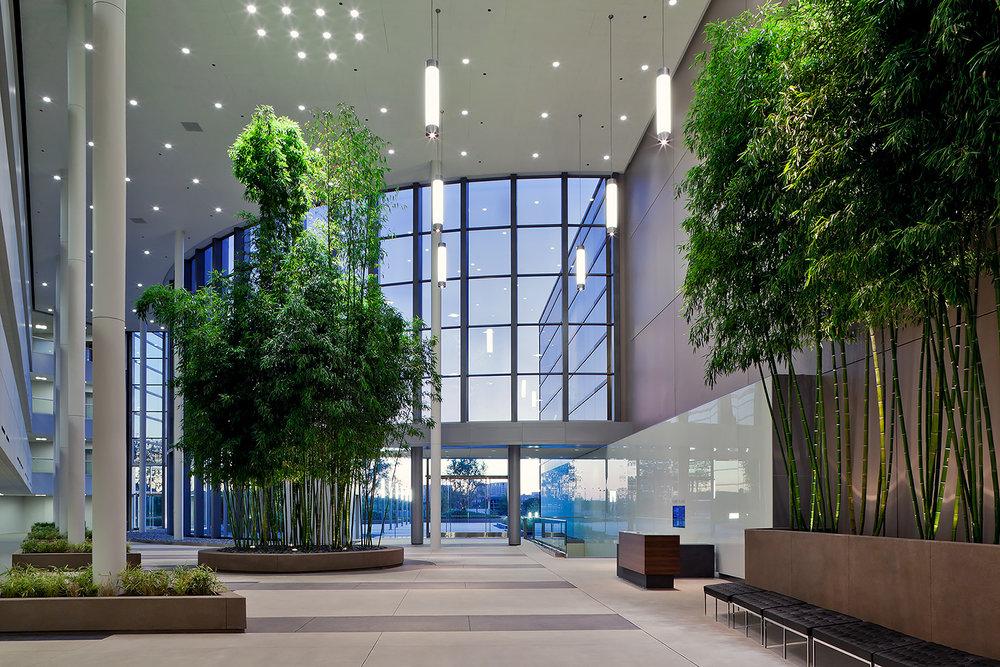Park Place, Atrium, Irvine, CA