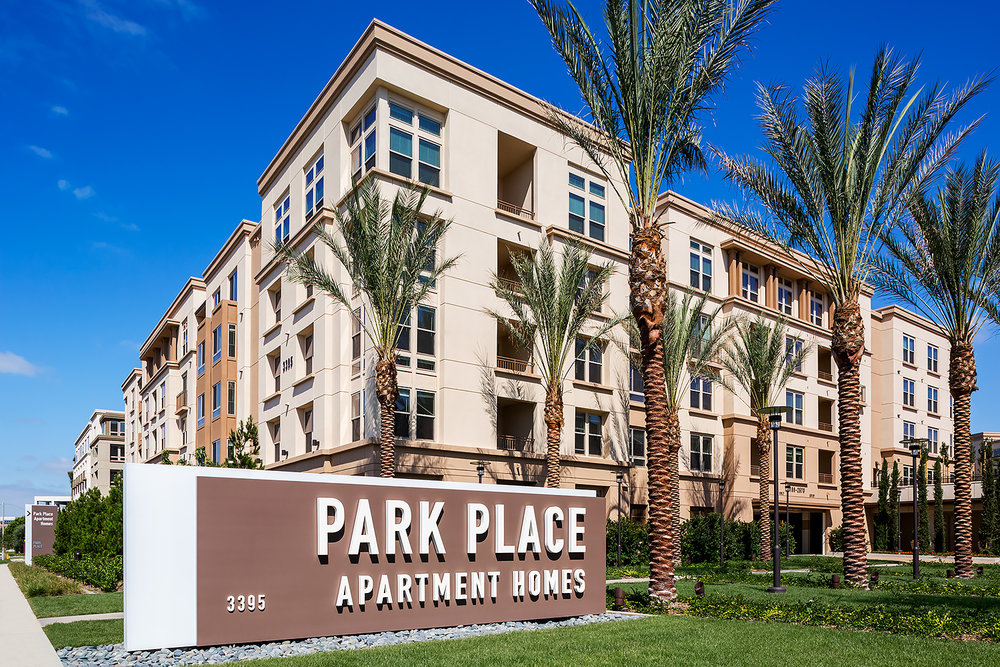 Park Place Apartments, Exterior
