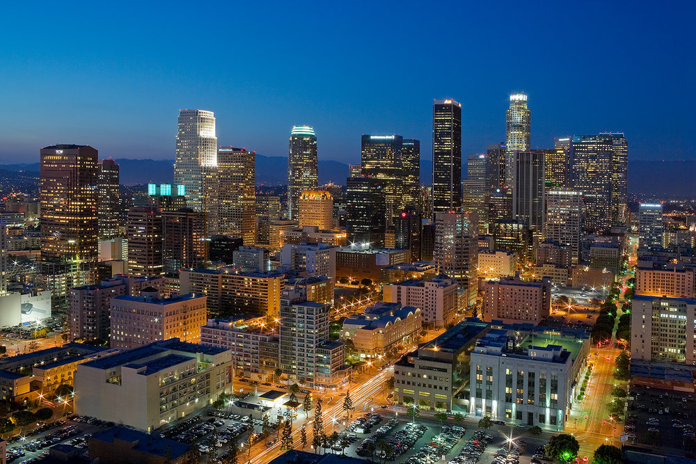 One of my most sold images.  Los Angeles skyline at dusk from 2008 was nice.  Since then there have been a lot of changes.