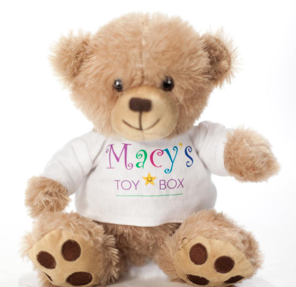 Tumbles The Teddy Bear Macy S Toy Box Macy Martin