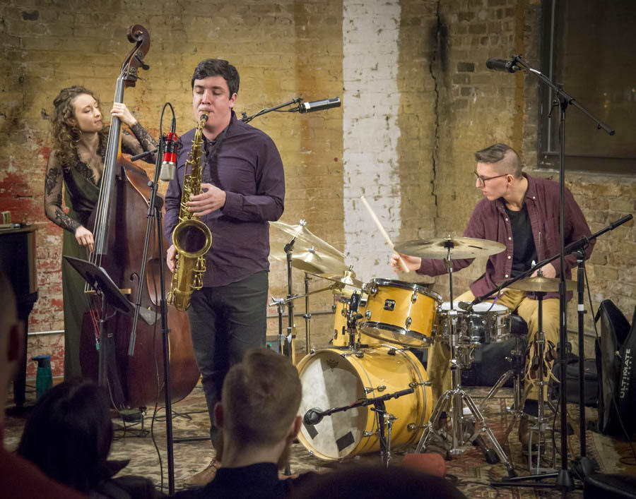 Heartland Trio - Fulton St. Collective Dec. 20, 2017PC: Harvey Tillis