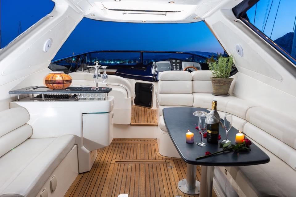 Main lounge area-cockpit