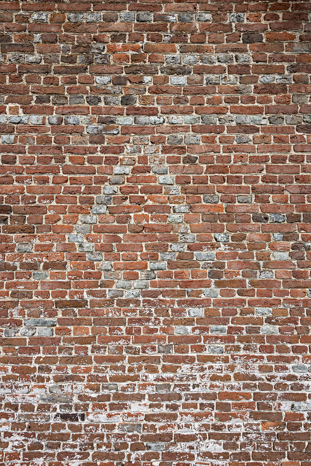 Cloverfields (1705). diamond pattern in the gable end. / Photo Credit: Willie Graham, 2018.